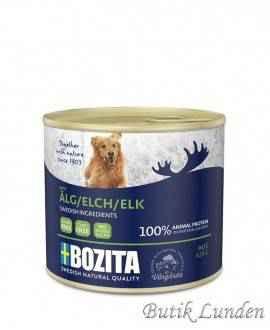 Elg - Bozita Pate - Hundemad - 625 gram  - 2