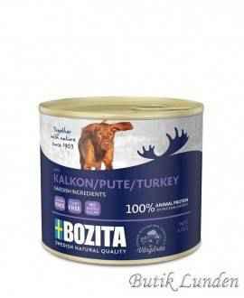 Kalkun - Bozita Hundemad - Pate - 625 gram  - 2