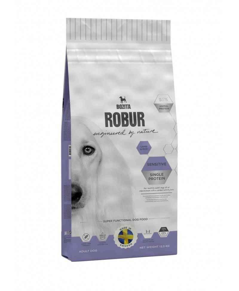 Bozita Robur Lam og ris Sensitiv hundefoder  - 1