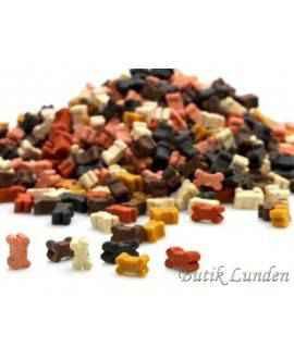 1,8 kg Mini mini kødben mix - Bløde godbidder i spand,  - 2