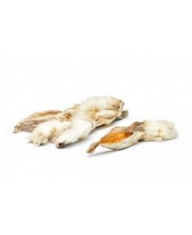 Kaninører med pels 250 gram  - 1
