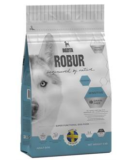 3 kg Bozita Robur Kornfri Rensdyr Sensitive  hundefoder  - 1
