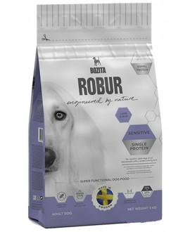 3 kg Bozita Robur Lam og ris Sensitiv hundefoder  - 1