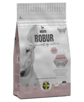 3 kg Bozita Robur Laks og ris Sensitive hundefoder  - 1