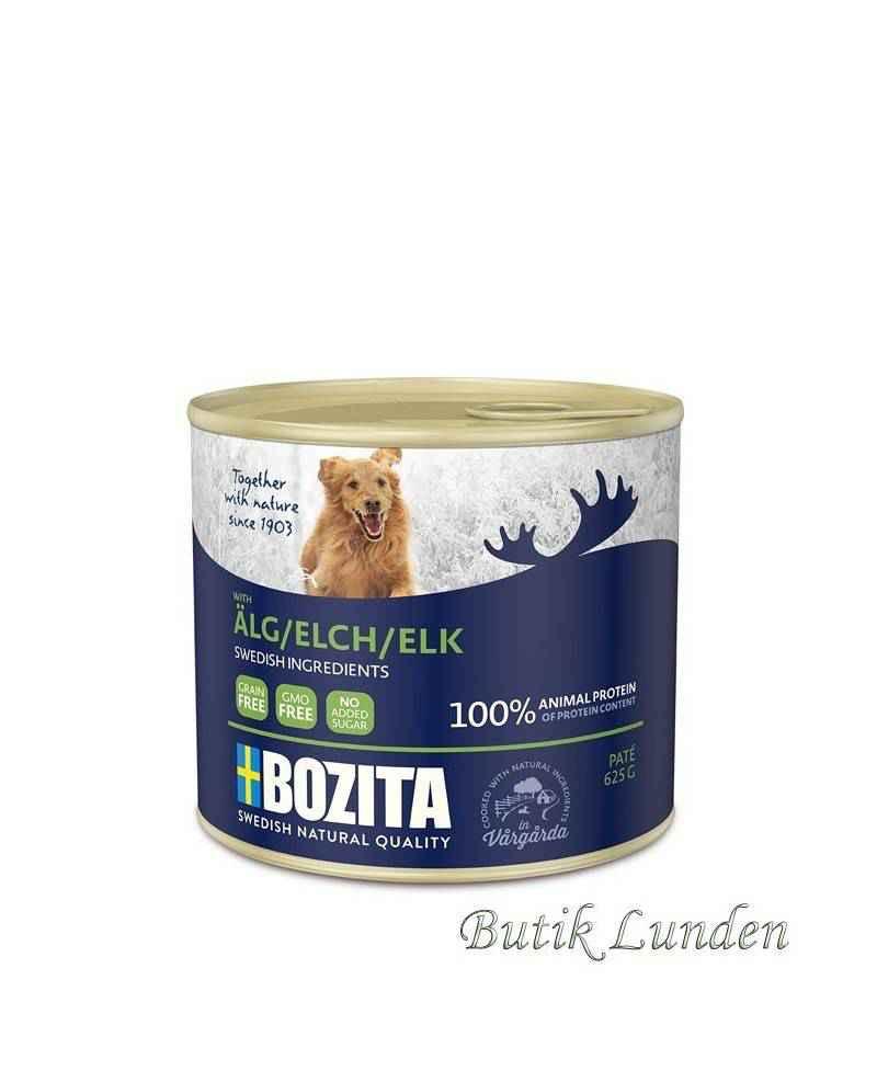 Elg pate 625 gram - Bozita hundemad  - 1