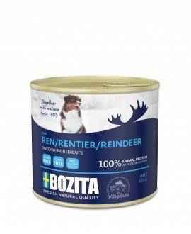 Rensdyr - Bozita Pate - Hundemad - 625 gram  - 1