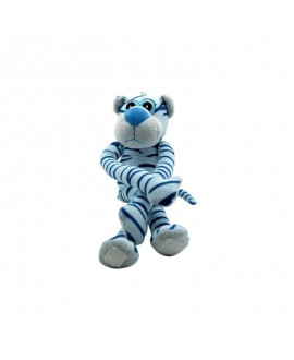 Blå plys panter 38 cm  - 1