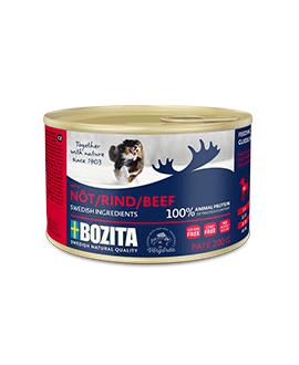 20 x Oksekøds pate 200 gram - Bozita Hundemad  - 2