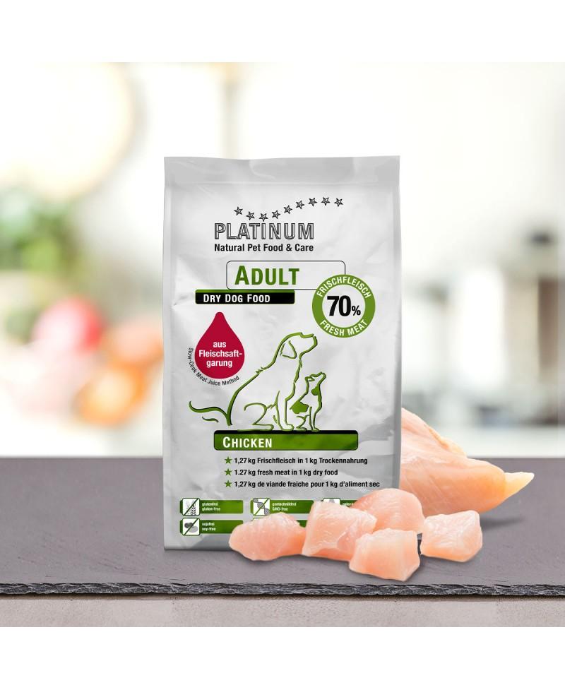 1,5 kg Platinum Kylling Adult Hundefoder Platinum - 9