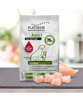 10 kg Platinum Kylling Adult Hundefoder Platinum - 1