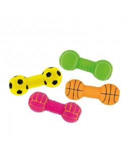 Grøn Latex legeben med bold  - 1