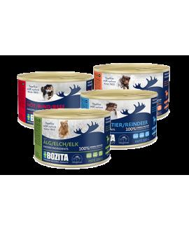 20 stk mix af Pate mini 200 gram - Bozita Hundemad  - 1
