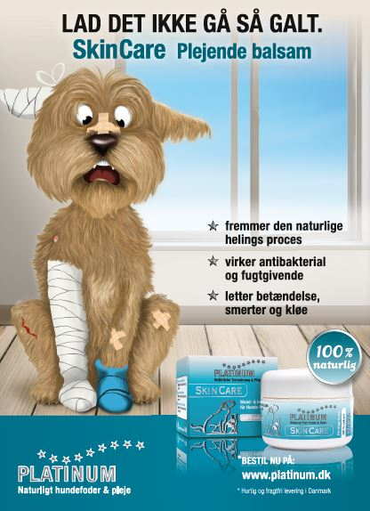 Platinum Skin Care til hunde