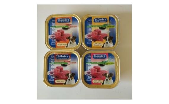 Udvalgt kød - Mix kasse af 100 gram bakker.....